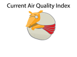 Arlo the Air Quality Animal Mascot